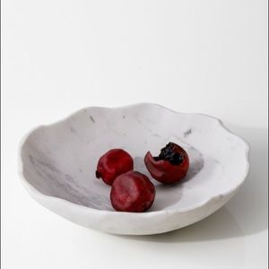 Other - Organic shape marble bowl